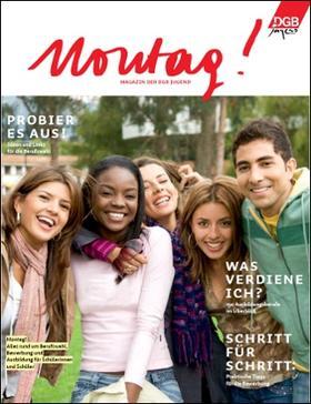 Titelseite DGB-Jugendmagzin Montag!