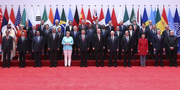 Gipfeltreffen G20 China