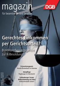 Beamtenmagazin 05/2015 - Titel zur Richter-Besoldung