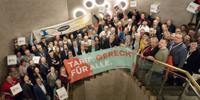 DGB zeigt Solidarität mit Danone-Beschäftigten in Rosenheim