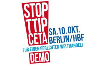Logo TTIP CETA Demo 10.10.2015 Berlin