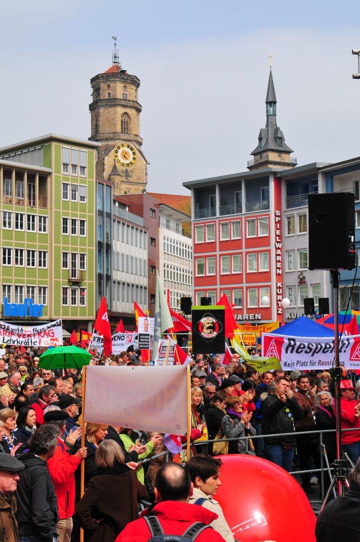 Stuttgart Mai-Kundgebung
