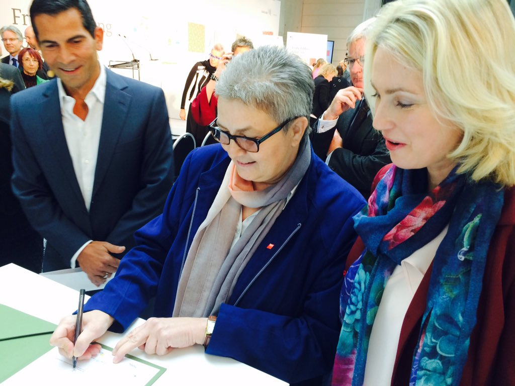 Elke Hannack, DGB, Manuela Schwesig
