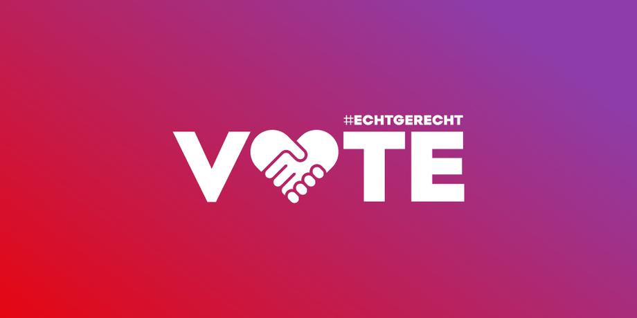 Logo Echt Gerecht Wahlaufruf