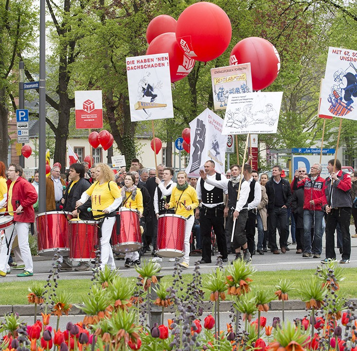 Koblenz 1.Mai Demo