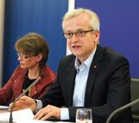 Hans-Jürgen Urban, geschäftsführendes Vorstandsmitglied der IG Metall