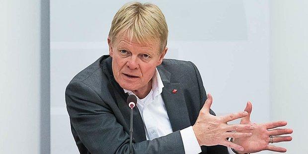 Reiner Hoffmann 2019 beim deutsch-britischen Gewerkschaftsforum