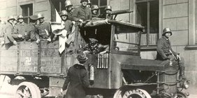Rechte Freikorps beim Kapp-Putsch 1920