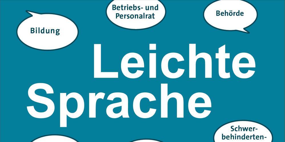 Plakat Leichte Sprache
