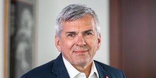Portrait Jörg Hofmann, IG Metall Vorsitzender