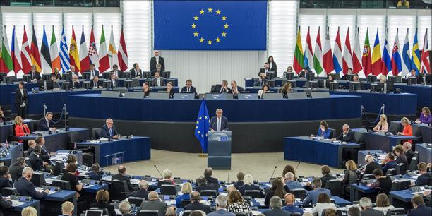 Juncker vor Europaparlament