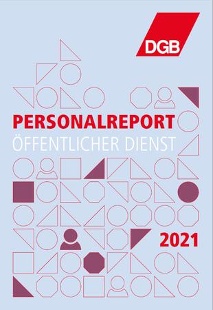 Titelbild des DGB-Personalreports 2021