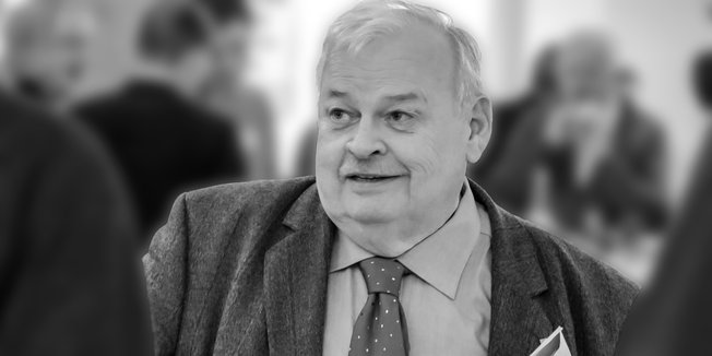 ehemaliger DGB-Vorsitzender von NRW, Guntram Schneider (schwarz-weiß Bild)