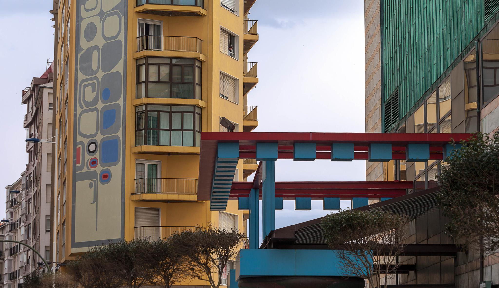 Gebäude im spanischen Santander