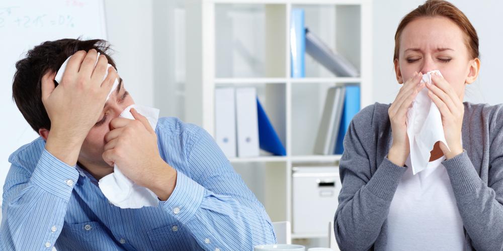 dgb zwei drittel gehen auch krank zur arbeit. Black Bedroom Furniture Sets. Home Design Ideas