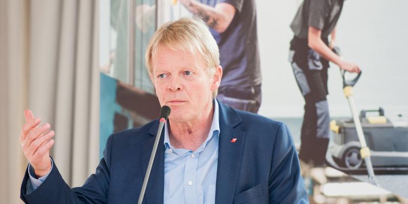 DGB-Vorsitzender Reiner Hoffmann, Woche der Industrie 2016