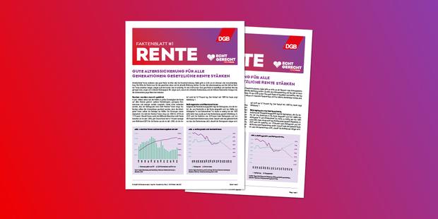 Teaserbild Faktenblatt Rente