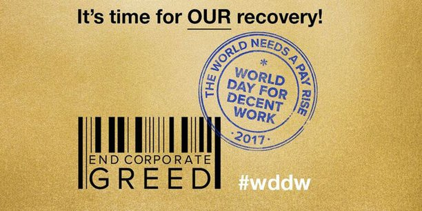 Aktuelles Logo zum World Day of Decent Work 2017