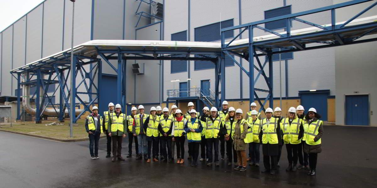 Delegation bei Rheinenergie