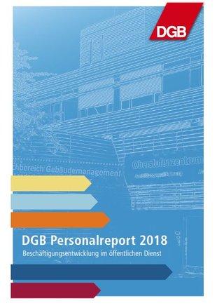 Titelcover DGB Personalreport 2018