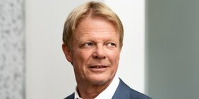 Portrait des DGB-Vorsitzenden Reiner Hoffmann