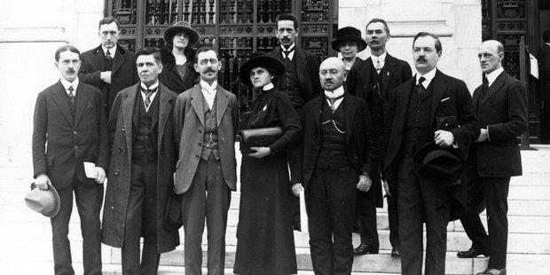 Teilnehmer der Gründungsversammlung der Internationalen Arbeitsorganisation