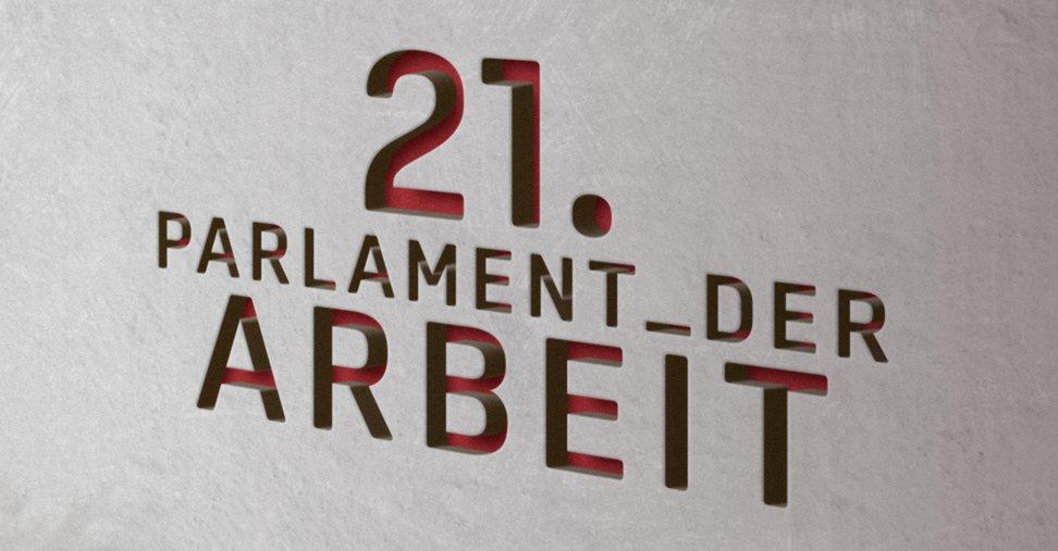Logo des 21. DGB-Bundeskongresses 2018
