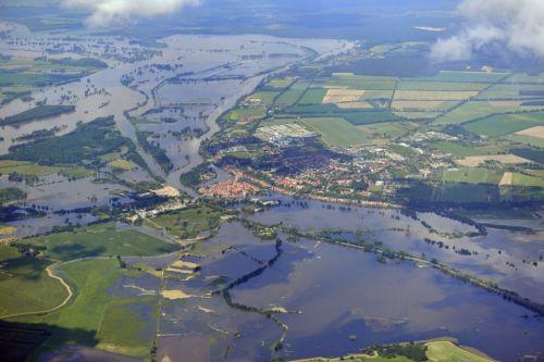 Die Elbe bei Havelberg in Sachsen-Anhalt