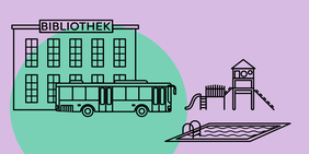 Bibliothek, Bus, Spielplatz, Schwimmbad: Nur die richtige Infrastruktur macht einen Wohnort lebenswert