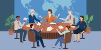 "Bundesadler, ""Fette Henne"", im Plenarsaal des alten Bundestagsgebäudes in Bonn"