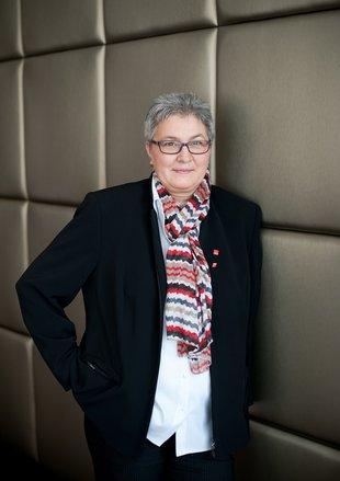 Elke Hannack nach der Wahl zur stellvertretenden DGB-Vorsitzenden