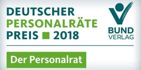 Logo zum Deutschen Personalräte-Preis 2018