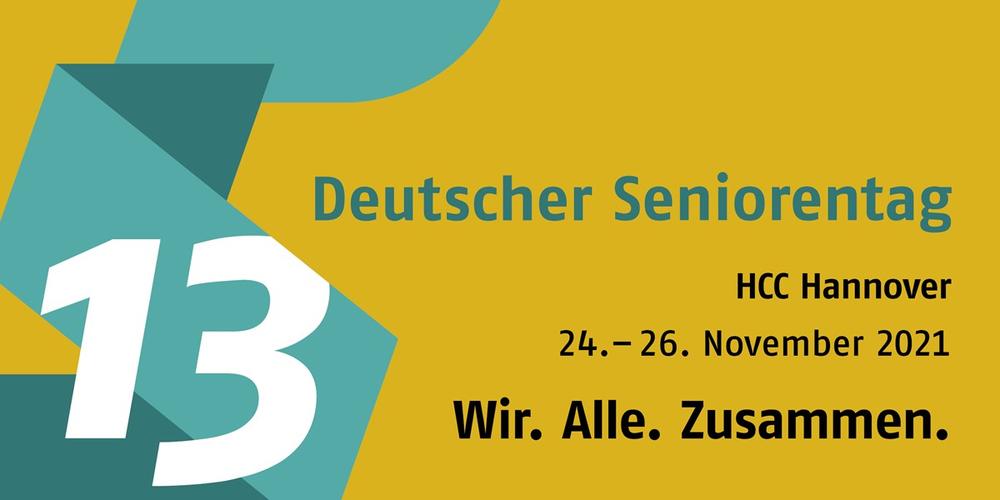 Logo 13. deutscher Seniorentag vom 24. bis 26. November