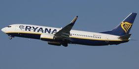 Boeing 737 der Ryanair