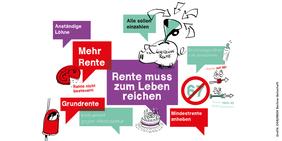 Grundrente, Betriebsrente und Co.: So diskutieren Teilnehmende des DGB-Zukunftsdialogs über Alterssicherung