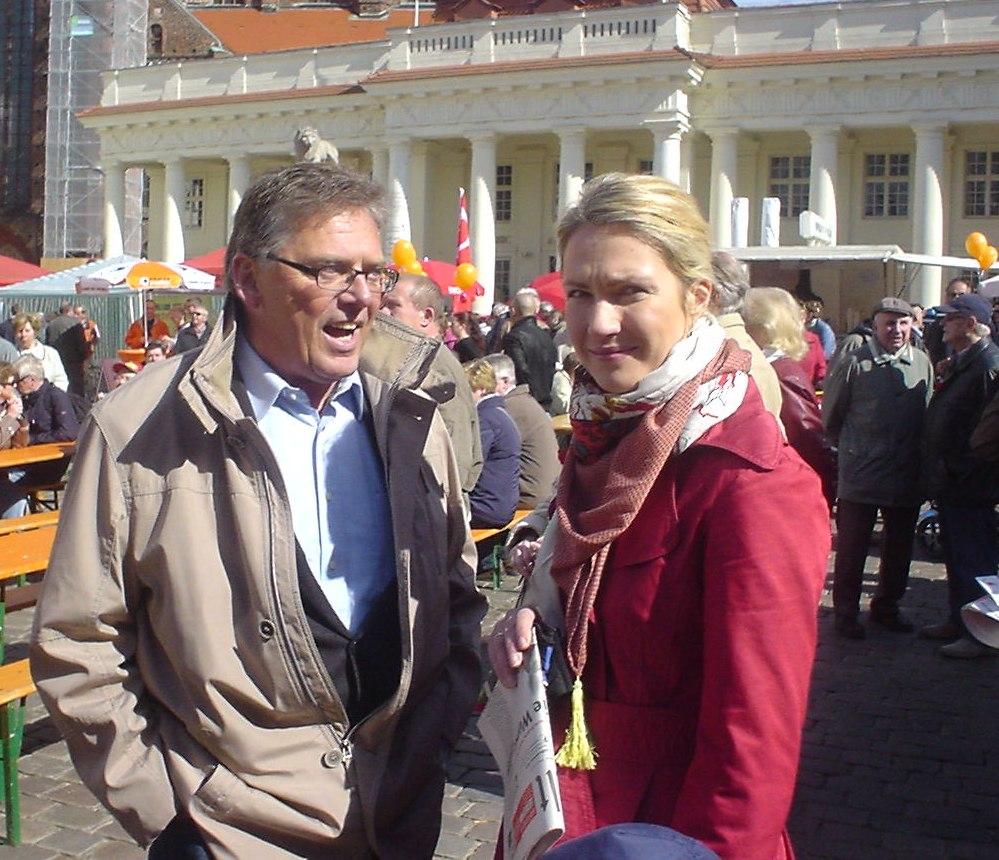 Kundgebung des DGB-Bezirks Nord in Schwerin