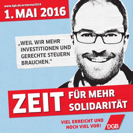 Plakat 1. Mai 2016