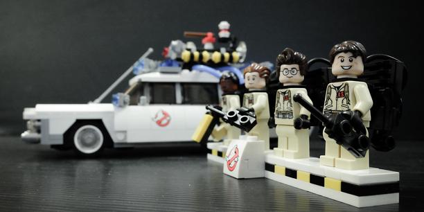 Geisterjäger aus Lego