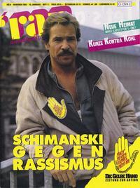 """Cover Teitschrift ran mit Götz George als Tatort-Kommissar """"Schimanski"""""""