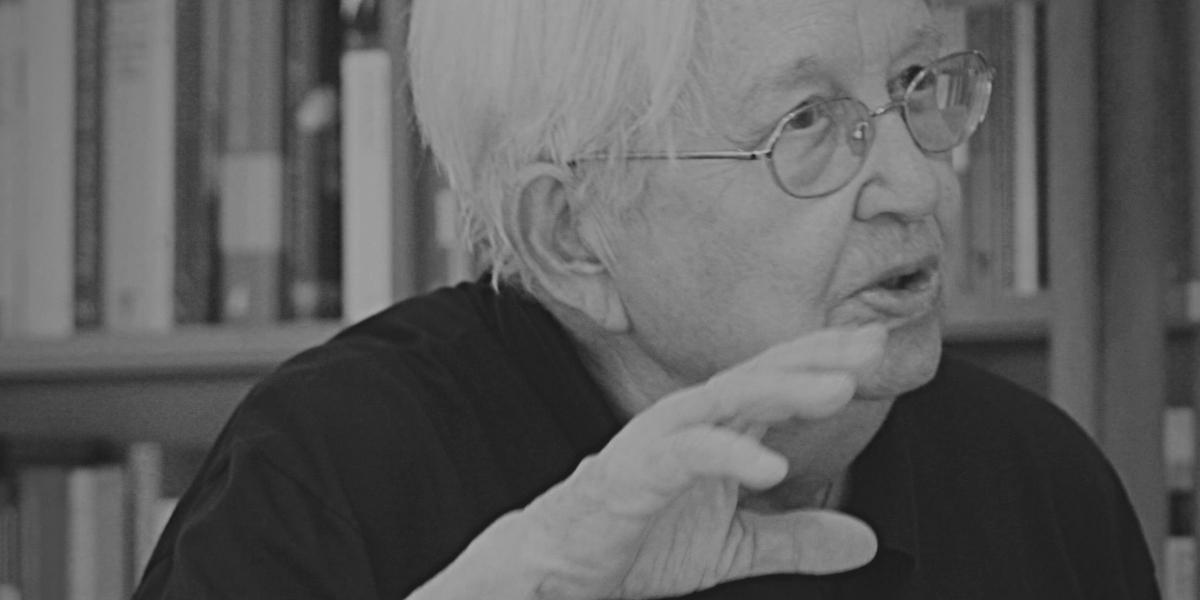 Helga Grebing, Schwarz-Weiß-Portrait