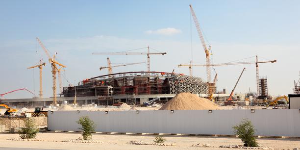 WM-Baustelle Katar