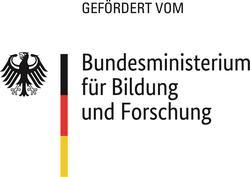 """Logo """"Gefördert vom Bundesministerium für Bildung und Forschung"""""""