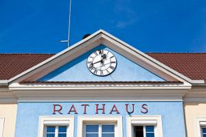 Fassade Rathaus-Gebäude
