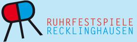 Logo - Ruhrfestspiele mit Text: Ruhrfestspiele Recklinghausen