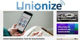 unionize.de: DGB startet IT-Portal