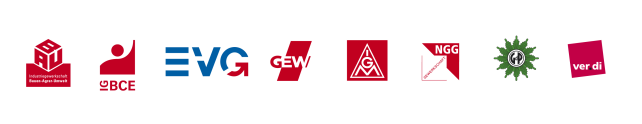Logos Gewerkschaften
