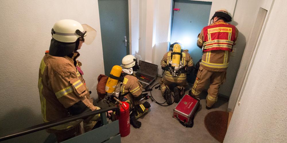 Feuerwehr beim Einsatz