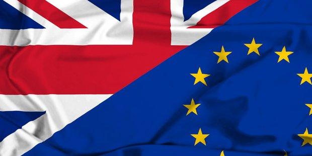 Fahnen EU Großbritannien