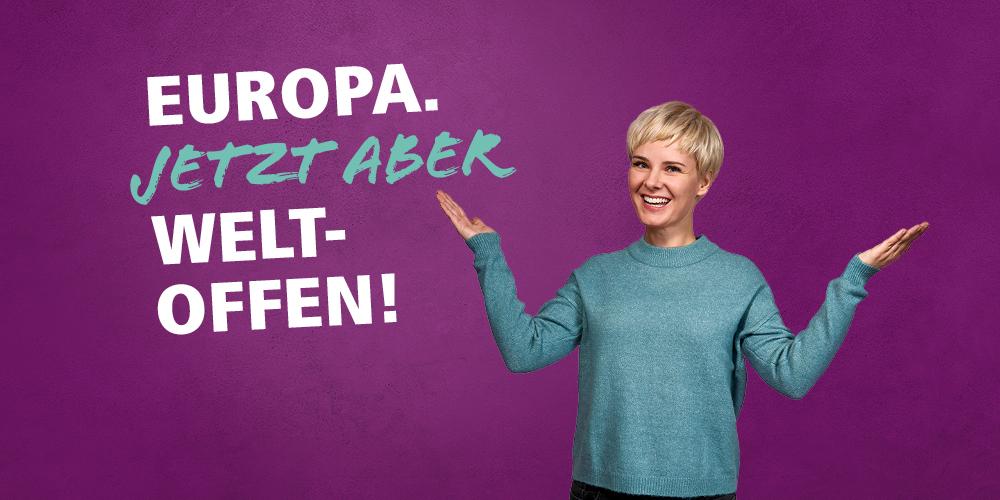Motivbild Europawahl 2019: Weltoffen