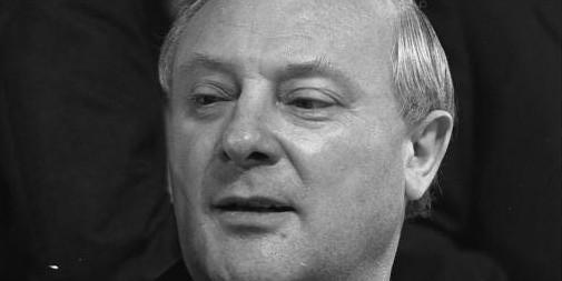 Georg Leber, IG BAU-Vorsitzender und SPD-Verteidigungsminister